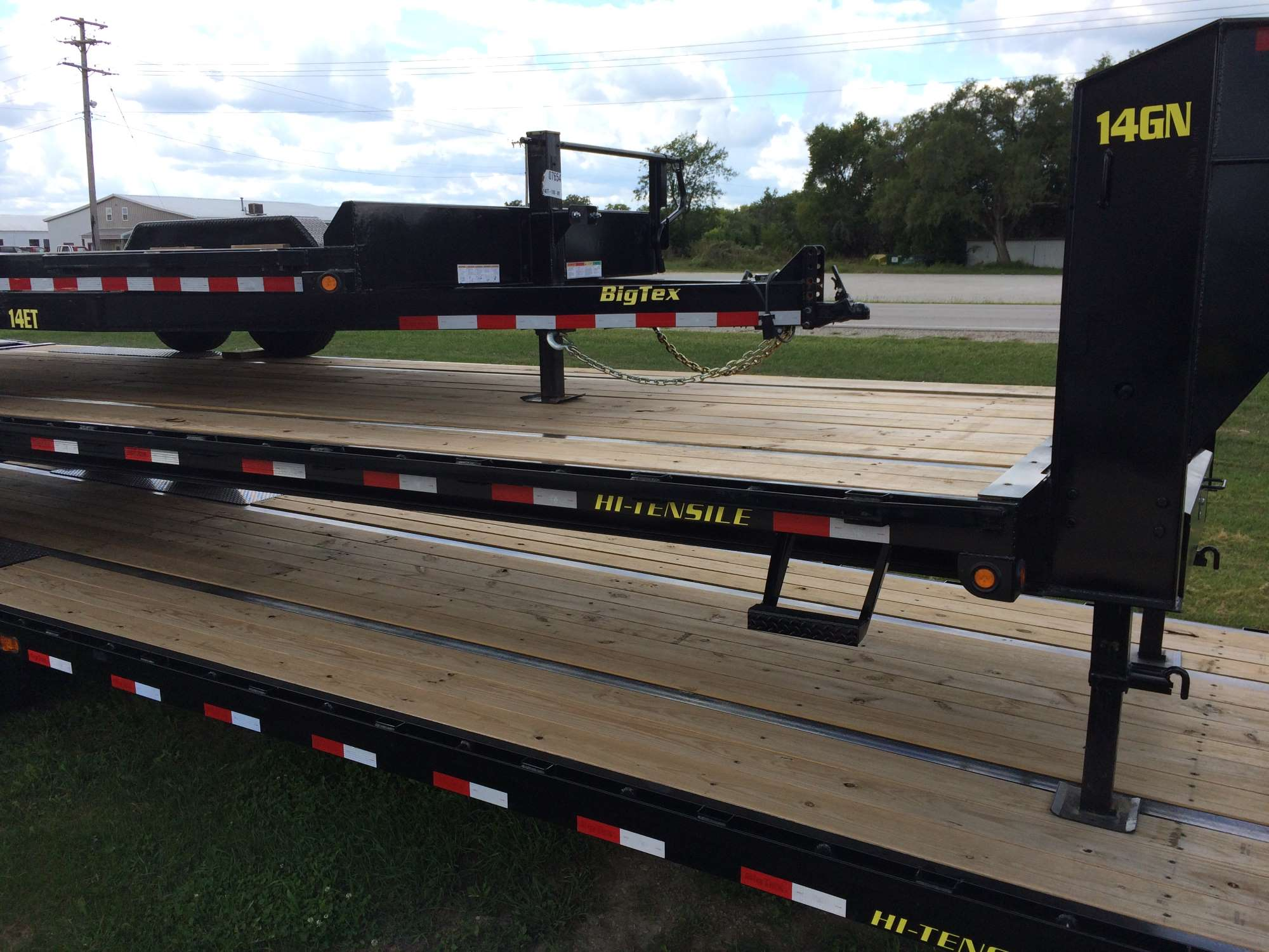 Big Tex 14gn 25 5 Gooseneck Trailer With Mega Ramps Stock Wiring Harness H6078045